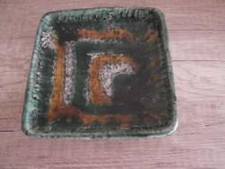 Iprművészeti retro tálka zsűrizett