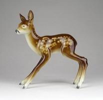 1B792 Metzler & Ortloff porcelán őz figura 12 cm