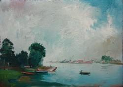 Istókovits Kálmán - Újpesti öböl 1954