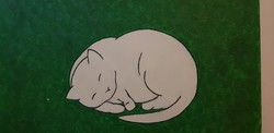 Macska a Füben