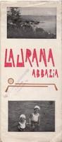 LAURANA ABBAZIA képes fürdőhelyi ismertető 1930 RITKA!