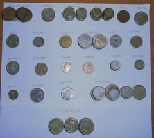 Európai pénz érme pénzérme 1,25 kiló