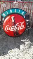 Coca cola világitós reklám tábla