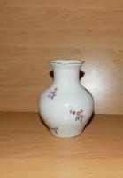 Régi Aquincum porcelán váza 11 cm (28/d)