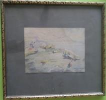 Kássa Gábor: Tengerparton (Dalmácia 1937)