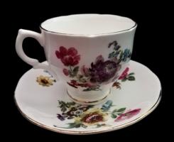 Gyönyörű szecessziós angol porcelán teás,hosszú kávés szett