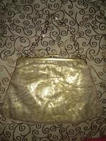 Aranyszínű antik kis retikül színházi táska gold coloured antique bag