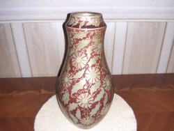 Zsolnay körpecsétes váza
