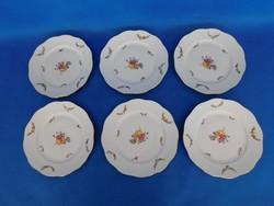 Herendi Liechtenstein grand  6sz sütis tányér garnitúra