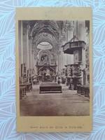 Antik templomi fotó Nikolaus Kuss Mariazell templombelső fénykép