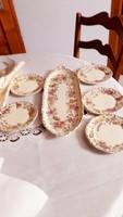 Zsolnay pillangos   süteményes   5   tányérral