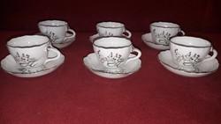 Ritka aquincumi porcelán kávés csészék