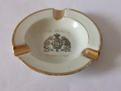 Limoges francia porcelán hamutartó / Limoges Porcelain Ashtray