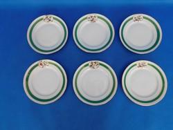 Herendi ORV - RO  mintás 6 sz sütis tányér garnitúra