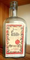 Régi üveg (Első Losonci Rum- és Likőrgyár)