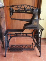 Singer cipész varrógép, bőrvarrógép