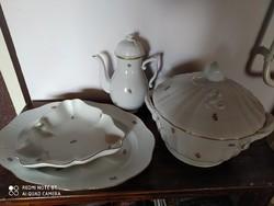 Vintage stílusú porcelánkészlet