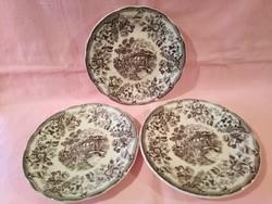 ÁK05 Ironstone Tableware Angol jelenetes tányér kínáló tál