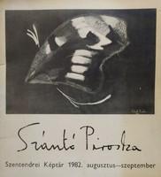 Szántó Piroska - Szentendrei képtár 1982 (DEDIKÁLT és RITKA) 4500 Ft