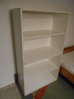 Polc könyvespolc szekrény fehér 80*70*36 cm 2 db