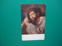 Antik képeslap, vallási
