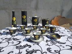 Ritka Plankenhammer Floss teás készlet + 2 váza