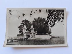 Régi képeslap 1958 Keszthely