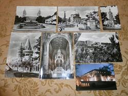 Magyar nagyméretű képeslap képes levelezőlap postatiszta