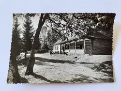 Régi képeslap 1960 Hermann Ottó turistaház
