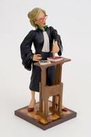 Ügyvédnő /Forchino karikatúra szobor/  1304