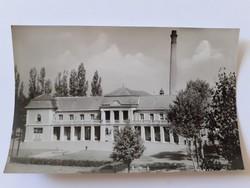 Régi képeslap Kiskunfélegyháza Fürdő szálló