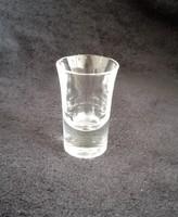 7 db pálinkás pohár eladó