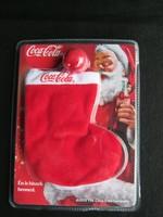 Coca-cola Mikulás csizma kulcstartó
