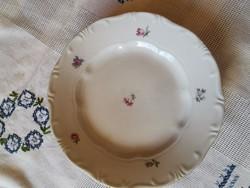 Zsolnay porcelán süteményes tányér