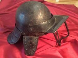 Original, rare English helmet from 1600-1650! From around time