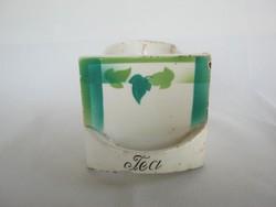 Gránit kerámia tea feliratos fűszertartó fiók