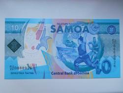 Szamoa  10 tala  2019  UNC   Polymer