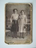Régi vintage fotó lányok Szabó Jakab