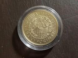 Mária aranyforintja 2000 forint érme 2014