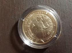 I. Ulászló aranyforintja 2000 forint érme 2020