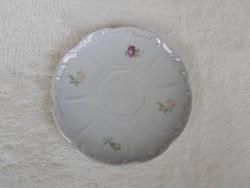 Antik Zsolnay pajzspecsétes 11,7 cm csésze alj tányér