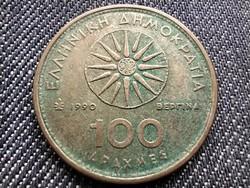 Görögország Nagy Sándor ritkább 100 drachma 1990 (id33923)