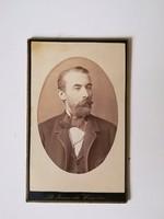 Régi vintage fotó férfi portré St. Ionovits Werschetz