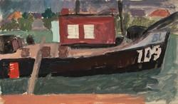 Jakuba János (1909-1974): Hajó.