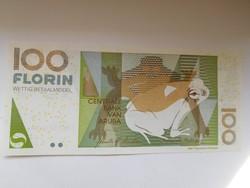 Aruba 100 florin 2008 UNC Nagyon Ritka! A legnagyobb címlet!