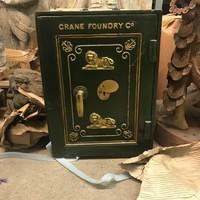 Crane Foundry antik széf