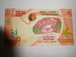 Madagaszkár 5000 aryary 2017 UNC