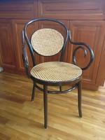 Rattan thonet fotel