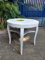 Vintage asztal, beépített szecessziós tányér 14.000 ft