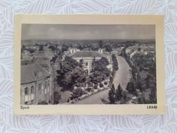 Régi képeslap Gyula látkép